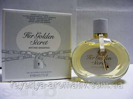 Тестер Туалетная вода Antonio Banderas Her Golden Secret 80мл