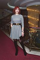 Стильное женское платье для деловой леди