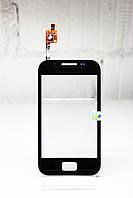 Тачскрин (Сенсор дисплея) Samsung S7500 Galaxy Ace Plus черный H/C, фото 1