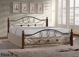 Кровать двуспальная кованная Хава (Hava) N Onder Metal 140×200
