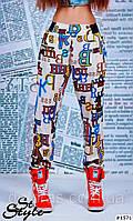 Летние брюки из штапеля, фото 1