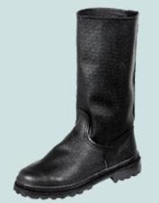 Сапоги юфть/кирза с голенищем