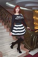Комплект туника и юбка, которые сделают из любой девушки стройную 399