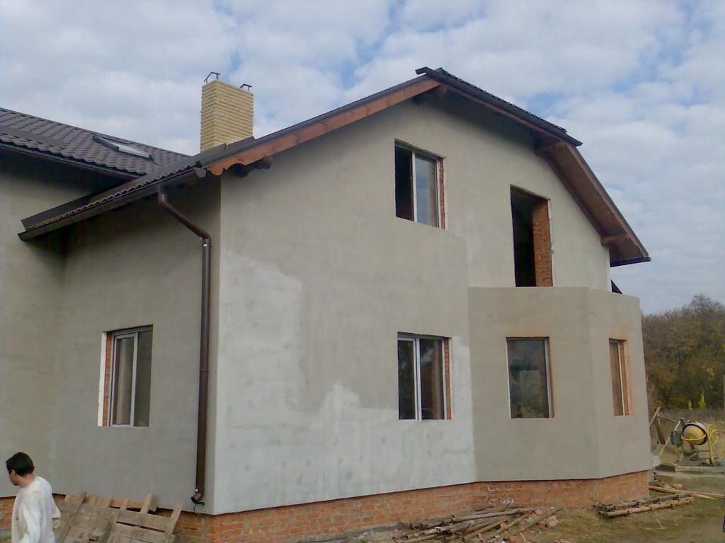 """Кирпичный дом под """"шубой"""" 2"""
