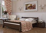 Кровать деревянная Диана Эстелла 80×200 Буковый щит 101 - Орех темный