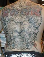 Татуировка на спине Харьков