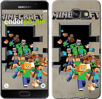 "Чехол на Samsung Galaxy A7 (2017) Minecraft 6 ""3330c-445"""