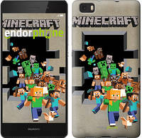 "Чехол на Huawei Ascend P8 Lite Minecraft 6 ""3330c-126"""