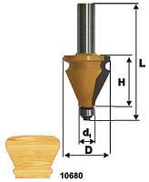 Фреза кромочная фигурная ф35х38, хв.12мм (арт.10680)