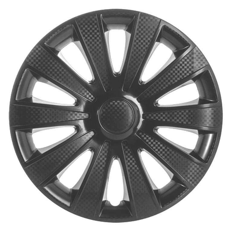 Колпаки KARAT BLACK  черные R 16