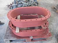 Люк -лаз овальный 600*900 -,Б/У ( без крышки ) к резервуарам стальным вертикальным РВС 400 - РВС 10 000 куб. м