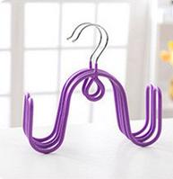 Вешалка (сушилка) для обуви фиолетовый