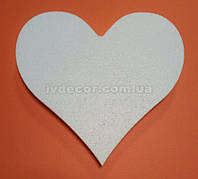 Сердце из пенопласта H01 20*21*2 см