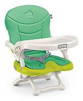 Стульчик-бустер для кормления Cam Smarty Pop, зеленый