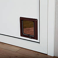 Trixie TX-38603  дверца для кота 2-Way Cat Flap  (21 × 21 см,2 магнита)