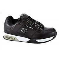 Кроссовки мужские кожаные Air Black Casual, Черный, 45