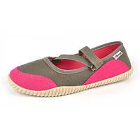 Мокасины женские спортивные текстильные легкие розовые c рифленой подошвой «Blink», Розовый, 40
