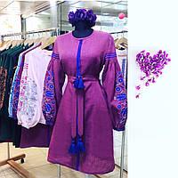 Платье цвет года вышивка дерево , фото 1