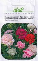 Купить семена цветов Гвоздика садовая Гренадин, смесь (семян в пакете 0, 2г.)
