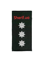 Погон Старший лейтенант полиции на липучке (1шт)  10352
