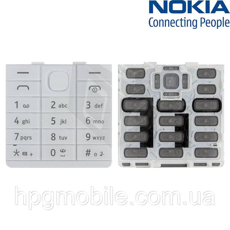 Клавиатура для Nokia 515 Dual Sim, белая