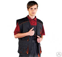 БЕЗРУКАВКА робочая оптом под заказ, куртка демисезонная, спецодежда оптом