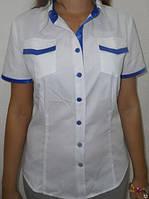 Блуза женская для официанток и сферы обслуживания, администратора