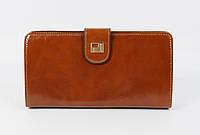 Кошелек кожаный женский JCCS 3078 коричневый, расцветки в наличии
