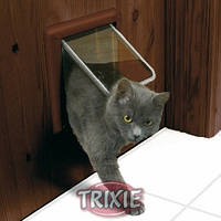Trixie  TX-38623 дверца для кота 4-Way Cat Flap (21 × 21 см,4 магнита)