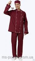 "Комплект повара ""кулинар"" поварская униформа под заказ от 5 единиц"