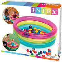 Детский игровой центр Intex 48674 с шариками 50штук