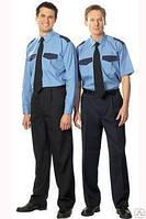 Костюм для охранных структур мужской или женский брюки рубашка