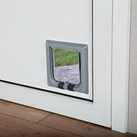 Trixie  TX-38622 дверца для кота 4-Way Cat Flap (21 × 21 см,4 магнита)