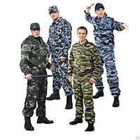 Костюм камуфлированный для военных, охраны, мужской или женский, куртка, брюки