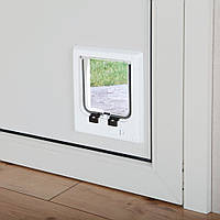 Trixie  TX-38621 дверца для кота  4-Way Cat Flap (21 × 21 см,4 магнита)