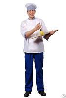 Костюм повара, женский или мужской, костюм пекаря