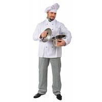 "Костюм повара ""Гурман"", костюм шеф-повара, поварская форма"