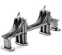 3D металлический конструктор Бруклинский мост, фото 1