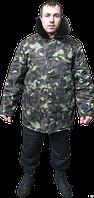 Куртка ватная с меховым воротником, бушлат, мужская, женская. спецодежда