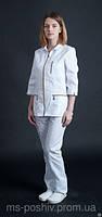Медицинский костюм «Анжелика» одежда для мед работников под заказ