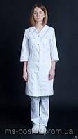 Медицинский халат «Жаклин» мед одежда для персонала под заказ
