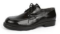 Туфли черные на шнуровке лакированная кожа net.Shoes Германия размер 38
