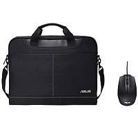 """Сумка для ноутбука ASUS Nereus 15.6"""" + Мышка Asus UT280 Black (90XB02M0-BAP000_)"""