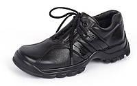 Ботинки кожаные черные на шнуровке TM Jela Германия, Черный, 31 , фото 1