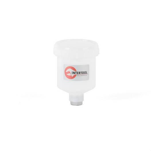 Бачок пластиковый для HVLP мини, 125мл INTERTOOL PT-1900