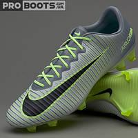 Футбольные бутсы Nike Mercurial Vapor XI FG Wolf Grey