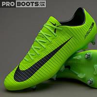 Футбольные бутсы Nike Mercurial Vapor XI SG Pro Lime