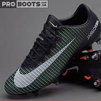 Футбольные бутсы Nike Mercurial Vapor XI SG Pro Black