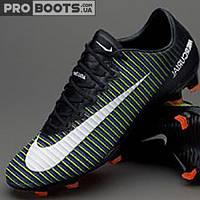 Футбольные бутсы Nike Mercurial Vapor XI FG Black
