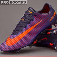 Футбольные бутсы Nike Mercurial Vapor XI SG Pro Ultra Violet